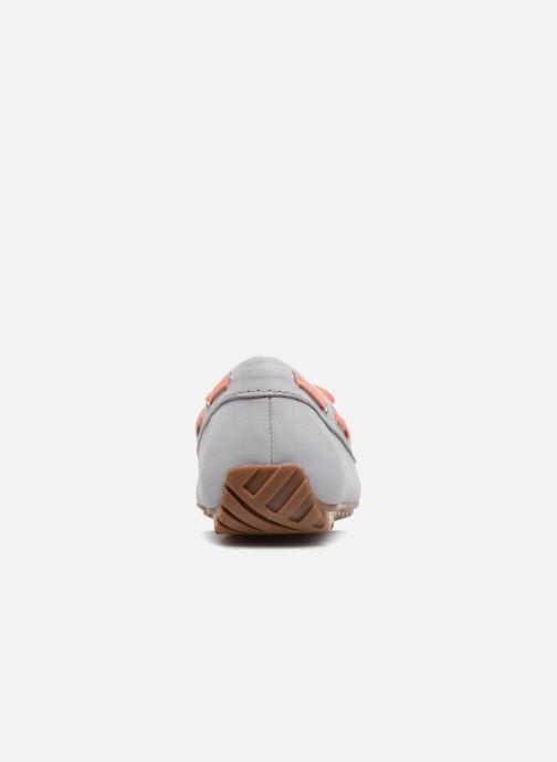 Zapatos con cordones Sebago Harper Tie Nbk Gris vista lateral derecha