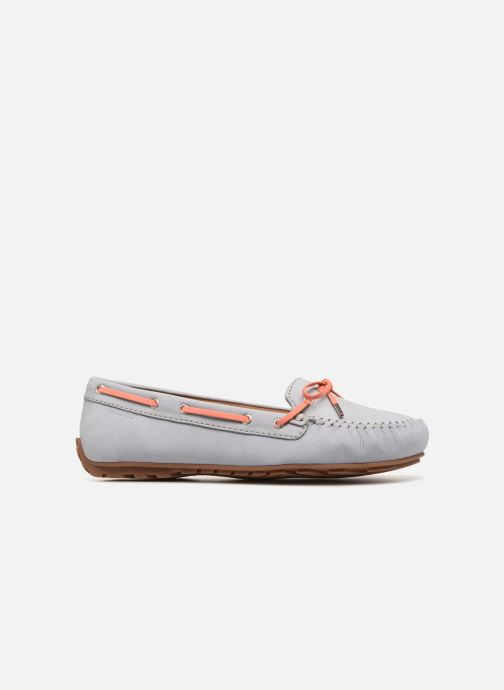 Lace-up shoes Sebago Harper Tie Nbk Grey back view