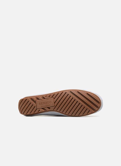 Zapatos con cordones Sebago Harper Tie Nbk Gris vista de arriba