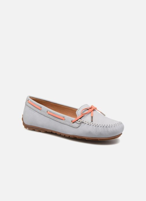 Lace-up shoes Sebago Harper Tie Nbk Grey detailed view/ Pair view