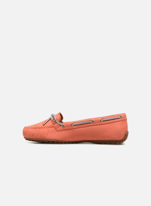 Veterschoenen Sebago Harper Tie Nbk Oranje voorkant