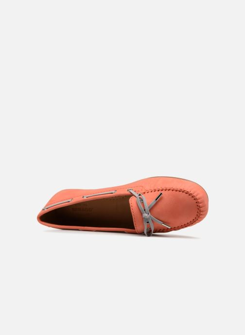 Chaussures à lacets Sebago Harper Tie Nbk Orange vue gauche
