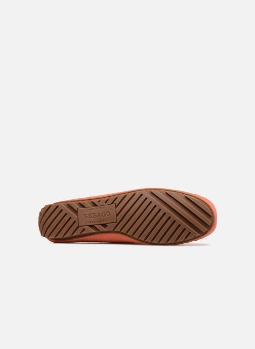 Chaussures à lacets Sebago Harper Tie Nbk Orange vue haut