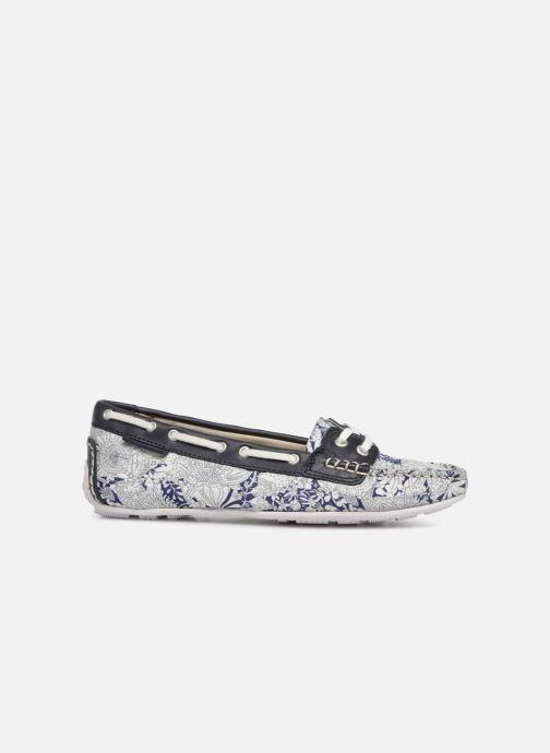 Zapatos con cordones Sebago Bala Azul vistra trasera