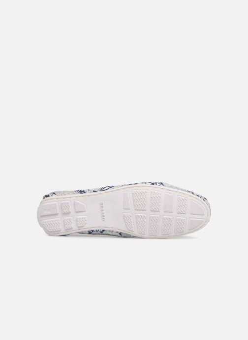 Chaussures à lacets Sebago Bala Bleu vue haut