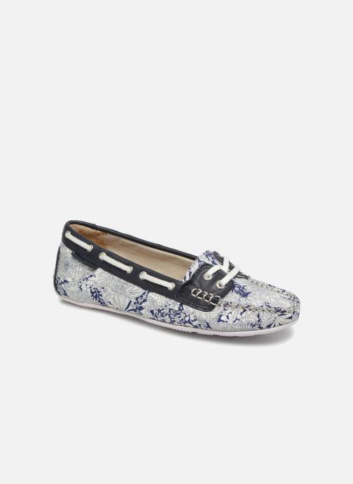 Lace-up shoes Sebago Bala Blue detailed view/ Pair view