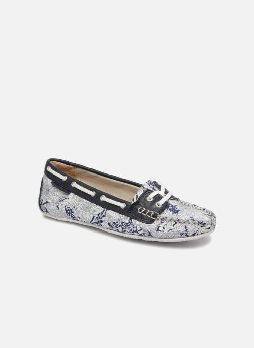 Zapatos con cordones Sebago Bala Azul vista de detalle / par