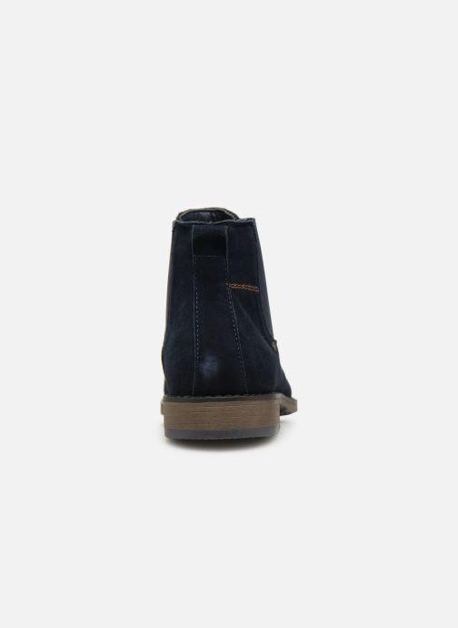 Bottines et boots I Love Shoes KESAUL Leather Bleu vue droite
