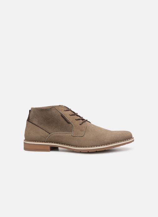 Boots en enkellaarsjes I Love Shoes KERONI 2 Leather Beige achterkant
