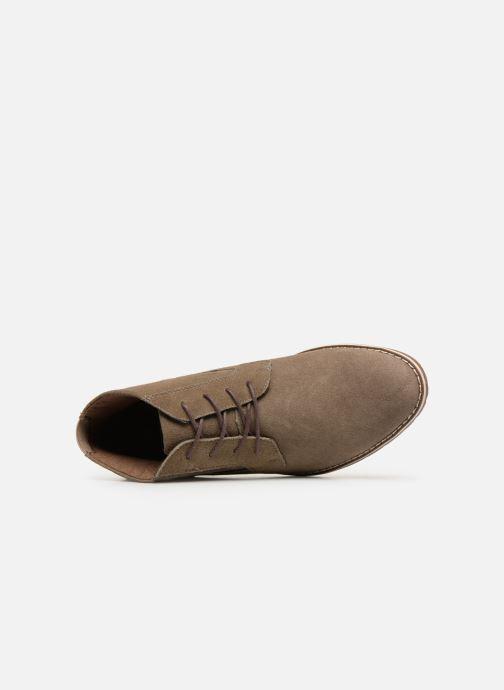 Bottines et boots I Love Shoes KERONI 2 Leather Beige vue gauche