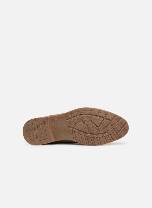 Bottines et boots I Love Shoes KERONI 2 Leather Beige vue haut