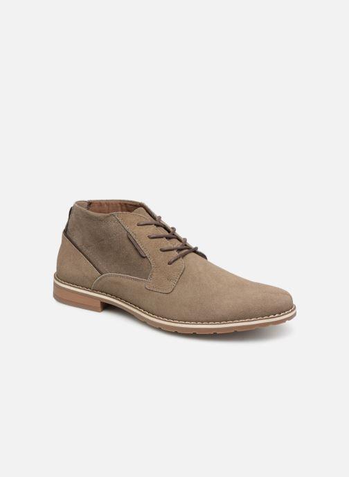 Ankelstøvler I Love Shoes KERONI 2 Leather Beige detaljeret billede af skoene
