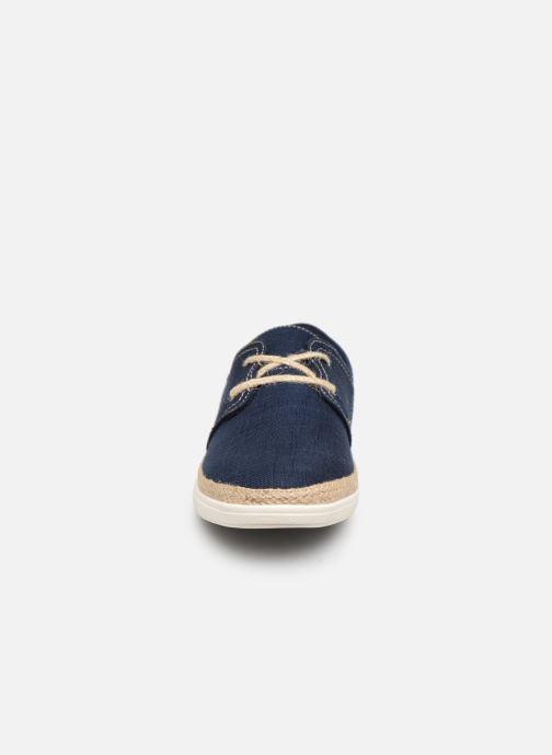 Zapatos con cordones I Love Shoes KERIDO Azul vista del modelo