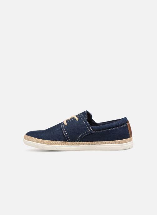 Schnürschuhe I Love Shoes KERIDO blau ansicht von vorne