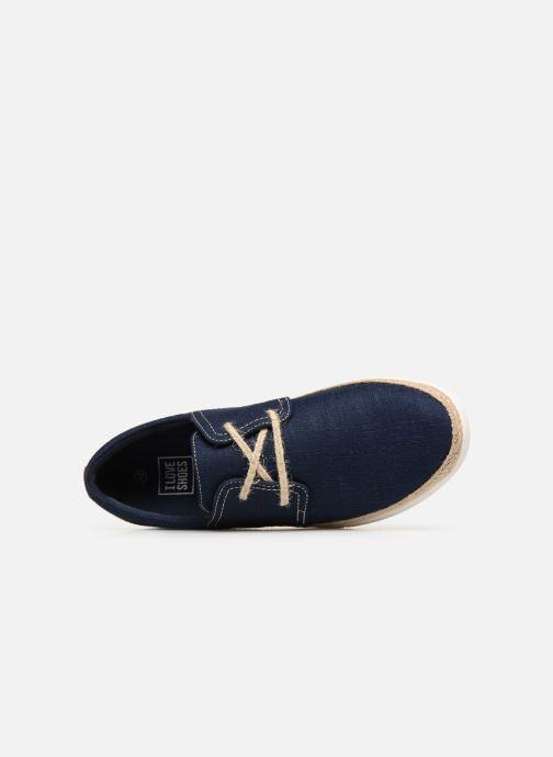 Zapatos con cordones I Love Shoes KERIDO Azul vista lateral izquierda