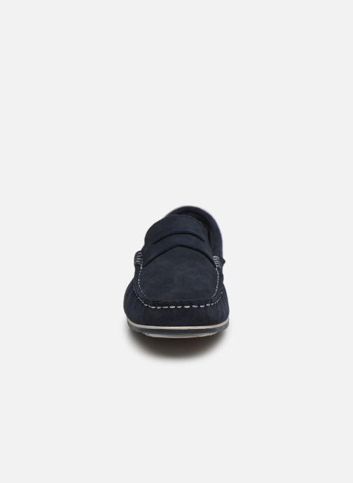 Mocassins I Love Shoes KEMOKI Leather Bleu vue portées chaussures