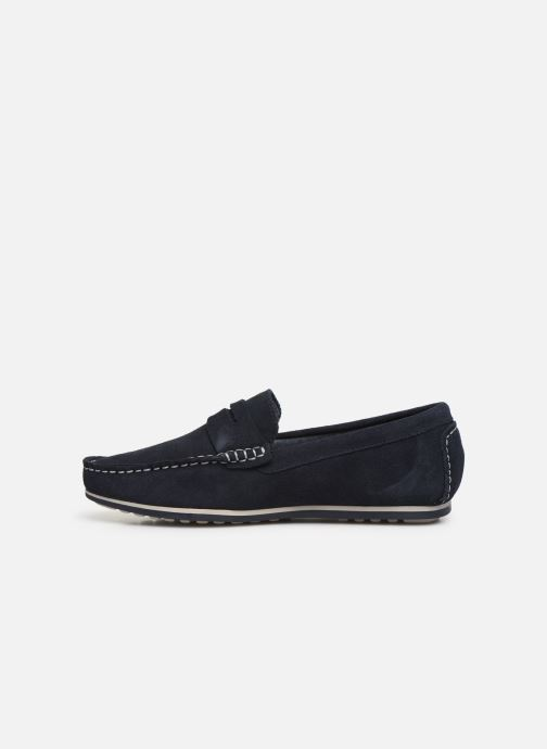 Mocassins I Love Shoes KEMOKI Leather Bleu vue face