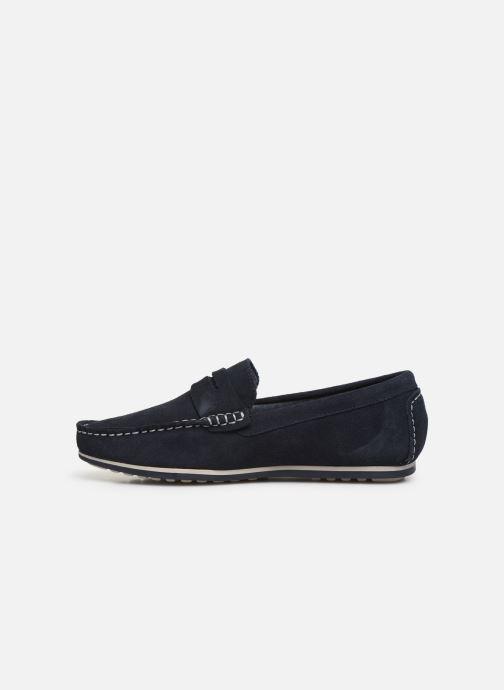 Mocassins I Love Shoes KEMOKI Leather Blauw voorkant
