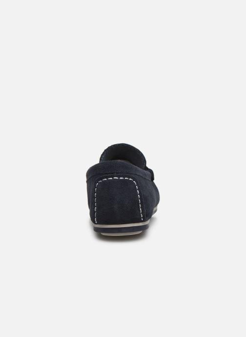 Mocasines I Love Shoes KEMOKI Leather Azul vista lateral derecha
