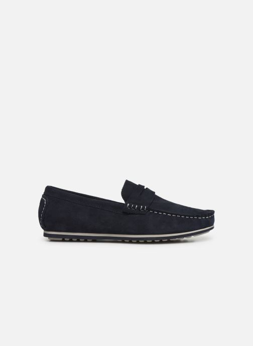 Mocassins I Love Shoes KEMOKI Leather Blauw achterkant