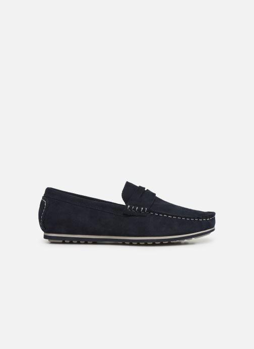 Mocasines I Love Shoes KEMOKI Leather Azul vistra trasera