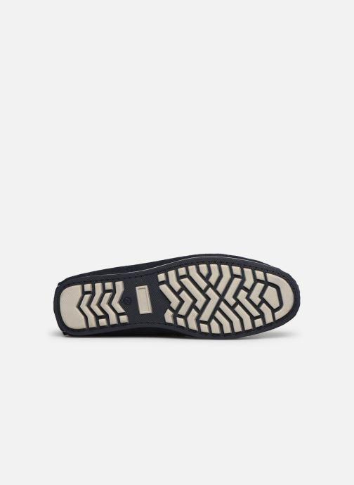 Mocassins I Love Shoes KEMOKI Leather Bleu vue haut