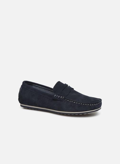 Mocassins I Love Shoes KEMOKI Leather Bleu vue détail/paire