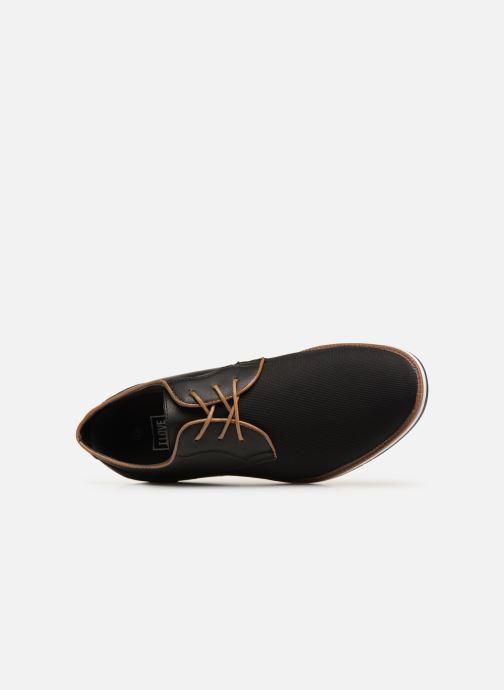 Chaussures à lacets I Love Shoes KENIHAL Noir vue gauche