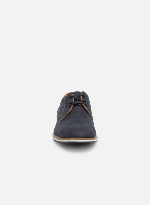 Zapatos con cordones I Love Shoes KENIHAL Azul vista del modelo