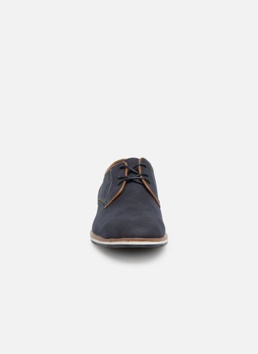 Chaussures à lacets I Love Shoes KENIHAL Bleu vue portées chaussures