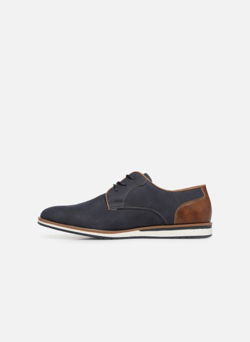 Chaussures à lacets I Love Shoes KENIHAL Bleu vue face