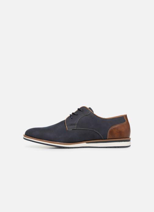 Zapatos con cordones I Love Shoes KENIHAL Azul vista de frente
