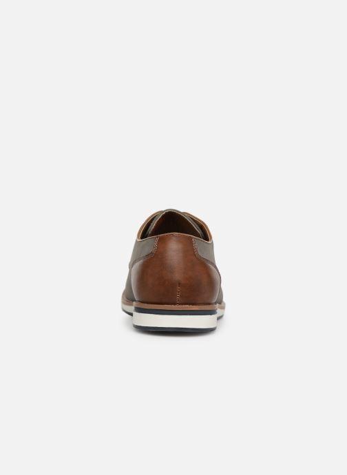 Zapatos con cordones I Love Shoes KENIHAL Gris vista lateral derecha
