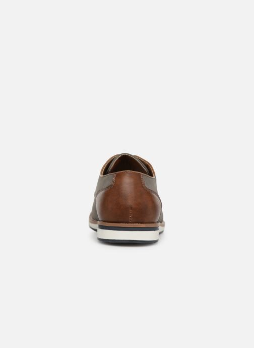 Chaussures à lacets I Love Shoes KENIHAL Gris vue droite