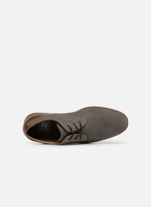 Lace-up shoes I Love Shoes KENIHAL Grey view from the left