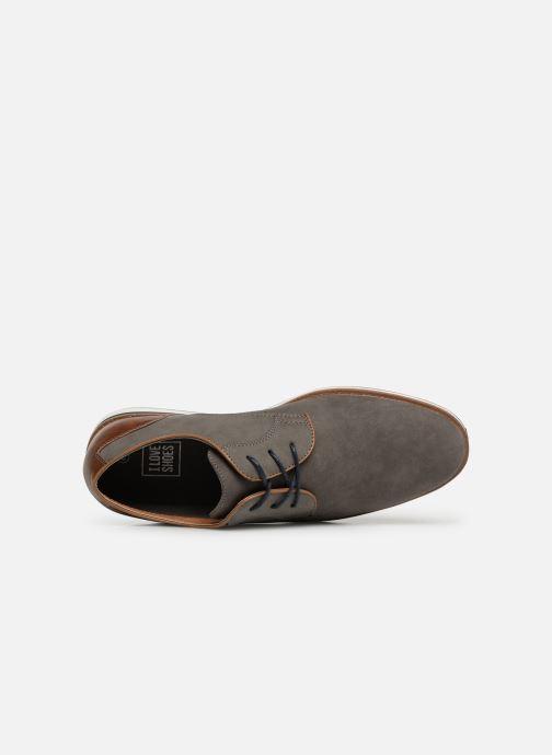 Zapatos con cordones I Love Shoes KENIHAL Gris vista lateral izquierda