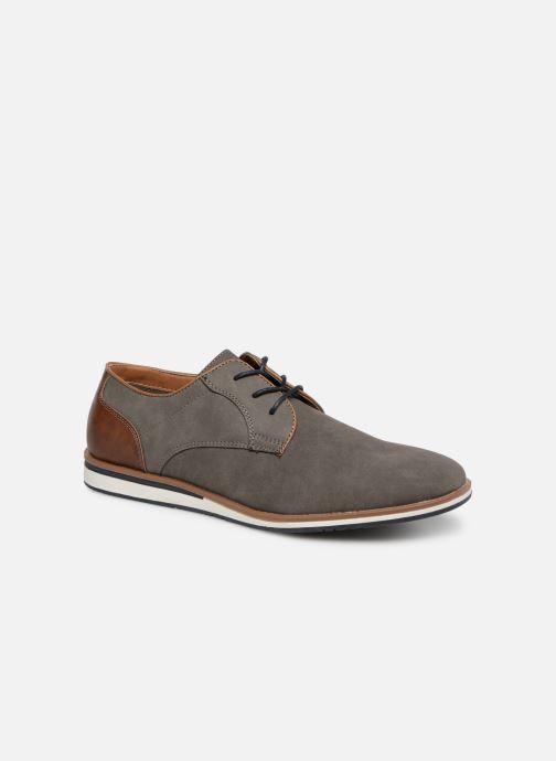Chaussures à lacets I Love Shoes KENIHAL Gris vue détail/paire