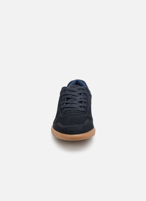 Deportivas I Love Shoes KERICO Leather Azul vista del modelo
