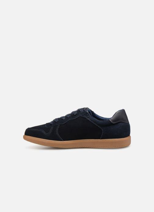 Baskets I Love Shoes KERICO Leather Bleu vue face