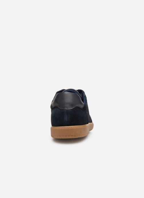 Baskets I Love Shoes KERICO Leather Bleu vue droite