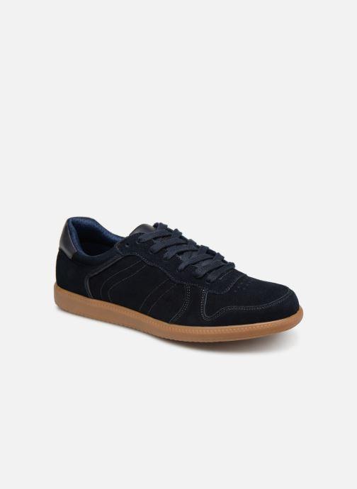Baskets I Love Shoes KERICO Leather Bleu vue détail/paire