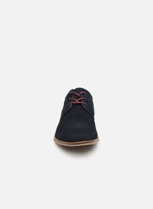 Lace-up shoes I Love Shoes KELINDO Leather Blue model view
