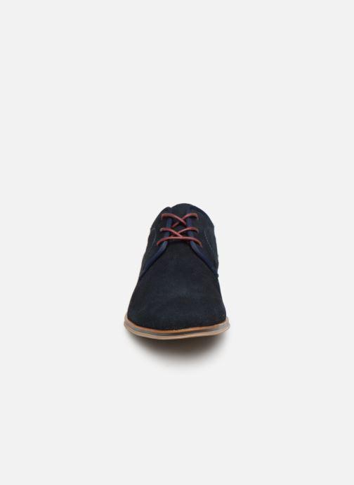 Scarpe con lacci I Love Shoes KELINDO Leather Azzurro modello indossato