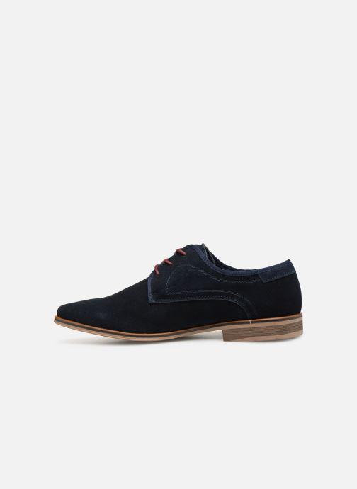 Scarpe con lacci I Love Shoes KELINDO Leather Azzurro immagine frontale