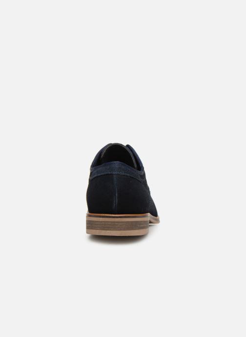 Scarpe con lacci I Love Shoes KELINDO Leather Azzurro immagine destra