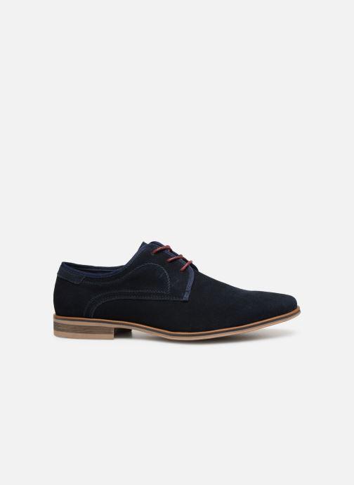 Veterschoenen I Love Shoes KELINDO Leather Blauw achterkant