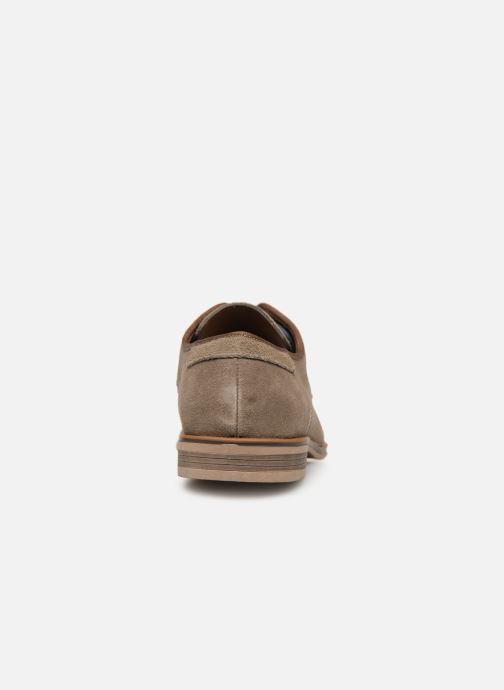 Chaussures à lacets I Love Shoes KELINDO Leather Beige vue droite