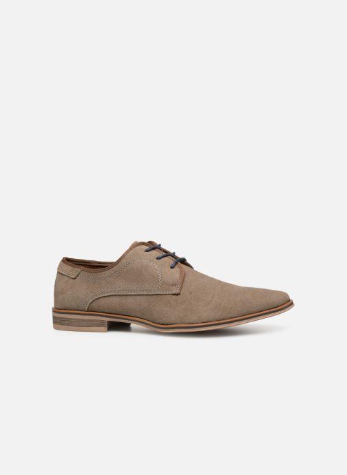 Snøresko I Love Shoes KELINDO Leather Beige se bagfra