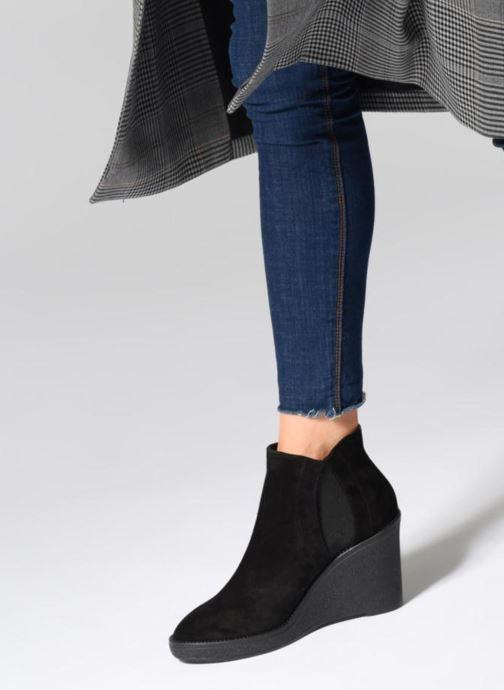 Bottines et boots L.K. Bennett Josephine Noir vue bas / vue portée sac