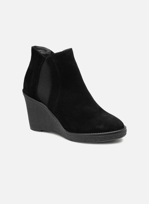 82b28166746 L.K. Bennett Josephine (Black) - Ankle boots chez Sarenza (346667)